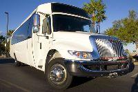 28-30 Passenger Limousine Bus image