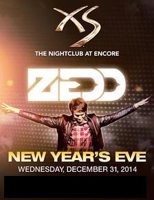 XS New Years Vegas ZEDD