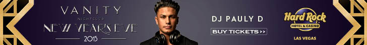 Vanity NYE Party DJ Pauly D