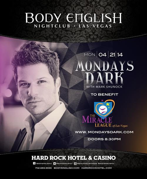 Body English Las Vegas, Featuring Mark Shunock