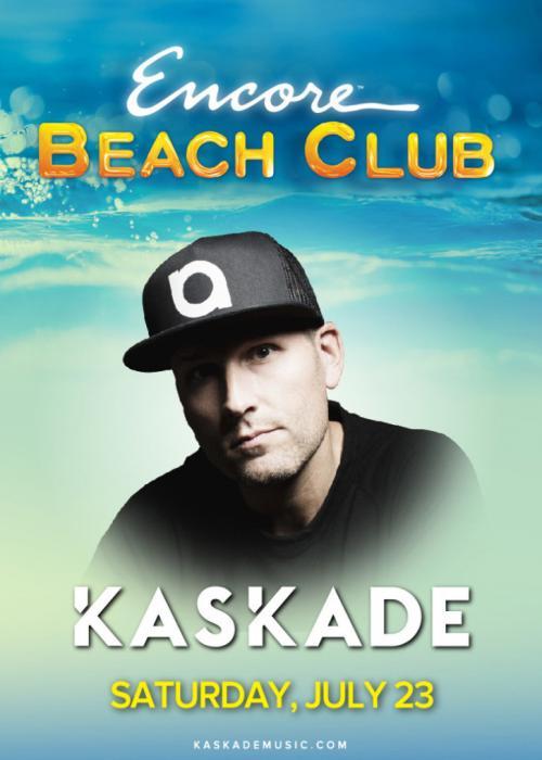 Encore Beach Club Pool Las Vegas, Featuring KASKADE
