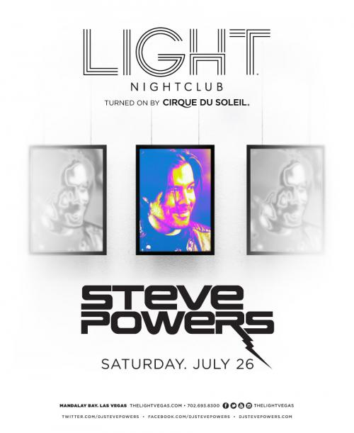 Light Nightclub Las Vegas, featuring Steve Powers