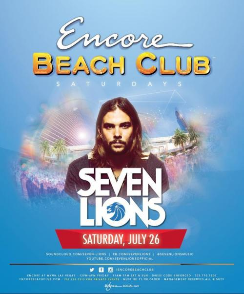 Encore Beach Club Las Vegas featuring Seven Lions