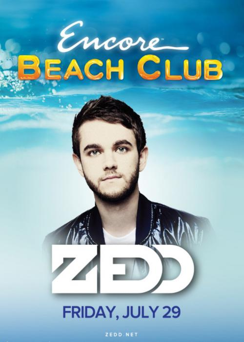 Encore Beach Club Pool Las Vegas, Featuring ZEDD