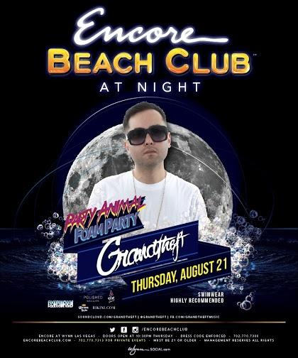 Surrender Nightclub Las Vegas Featuring GrandTheft