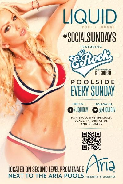 Liquid Pool & Lounge, Las Vegas, Social Sundays