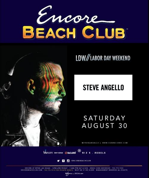 Encore Beach Club Las Vegas featuring Steve Angello