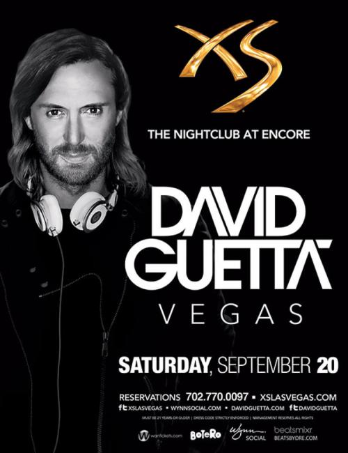 XS Nightclub Las Vegas Featuring David Guetta