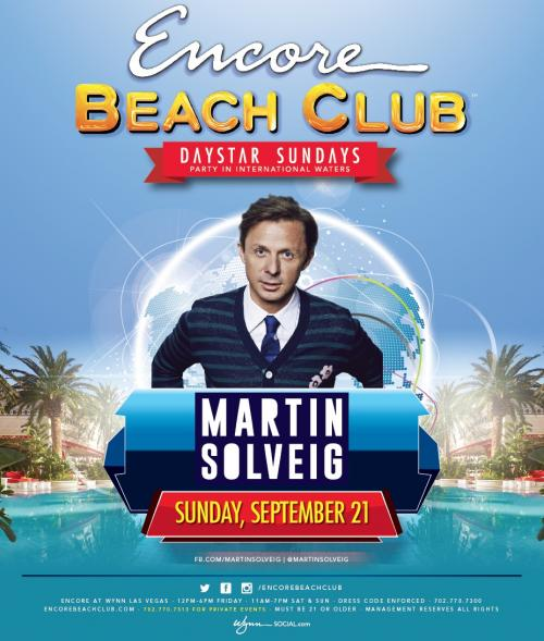 Encore Beach Club Las Vegas featuring Martin Solveig