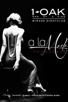 1 OAK,Las Vegas, A La Mode Thursdays
