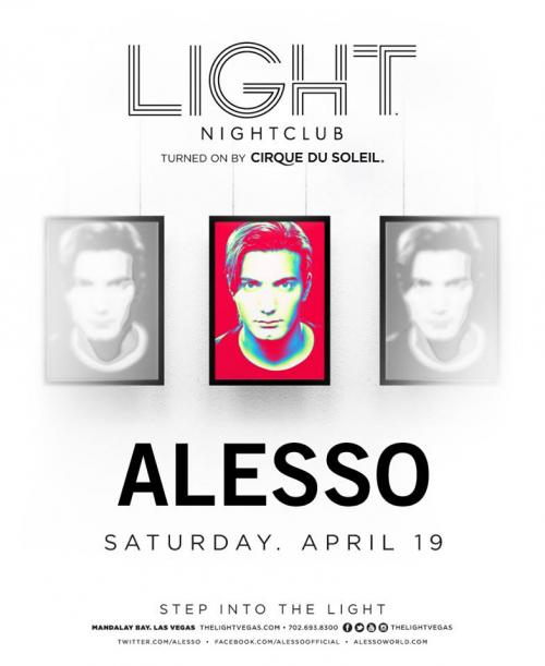 Light Nightclub,Las Vegas, Featuring Alesso