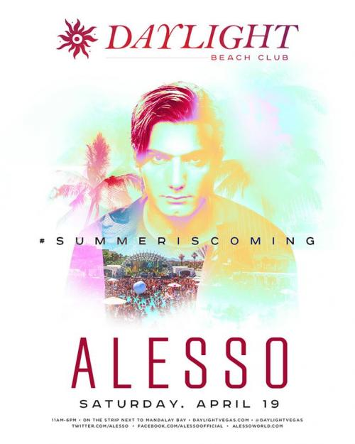 Daylight Beach Club, Las Vegas, Featuring Alesso