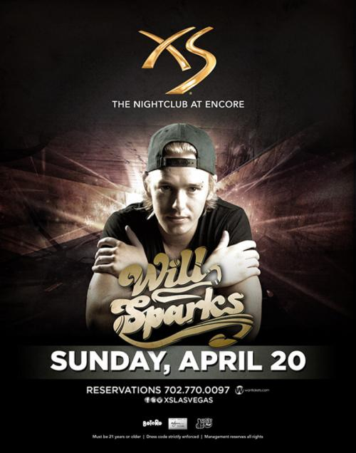XS Nightclub,Las Vegas, Featuring Will Sparks