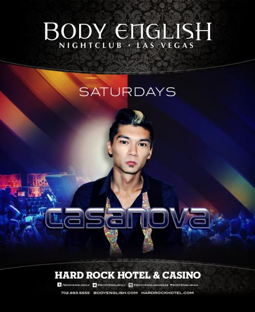Body English Nightclub,Las Vegas, Featuring DJ Casanova