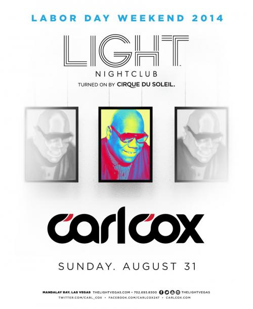 Light Nightclub Las Vegas, featuring Carl Cox