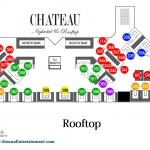 Chateau Nightclub Las Vegas at Paris Hotel, vegas pool parties, bachelor vegas, bachelorette vegas, vegas nightclubs, vegas nightlife Image