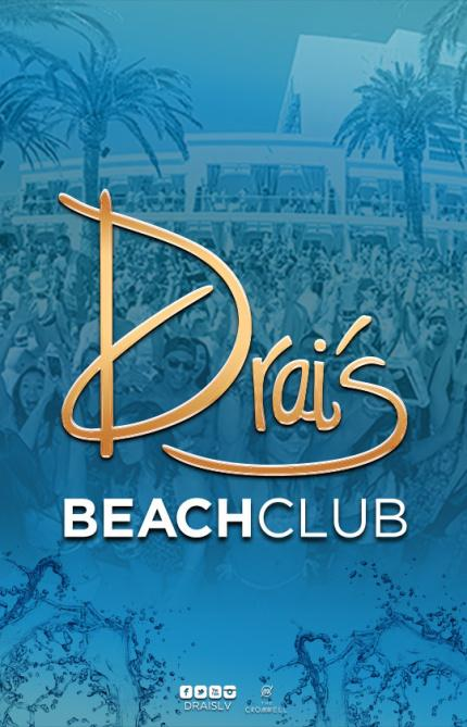 Drais Beach Club Pool Party Las Vegas, Featuring SPECIAL GUEST
