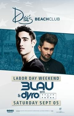 Drais  Nightclub Las Vegas, Featuring 3 LAU and DYRO