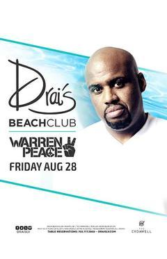 Drais  Nightclub Las Vegas, Featuring Warren Peace