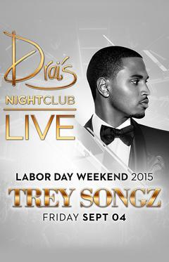 Drais  Nightclub Las Vegas, Featuring Trey Songz LIVE