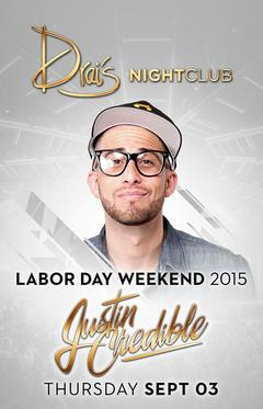 Drais  Nightclub Las Vegas, Featuring Justin Credible