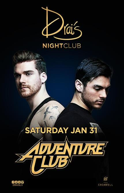 Drais  Nightclub Las Vegas, Featuring ADVENTURE CLUB
