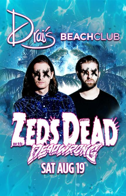 Drai's Beachclub Pool Las Vegas, Featuring ZEDS DEAD