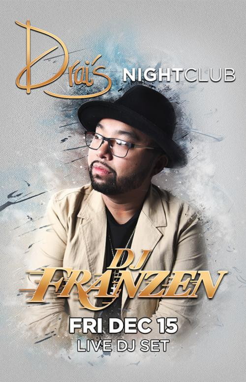 Drais Nightclub Las Vegas, Featuring DJ Franzen