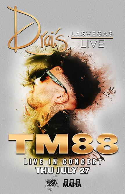 Drai's Nightclub Las Vegas, Featuring TM88