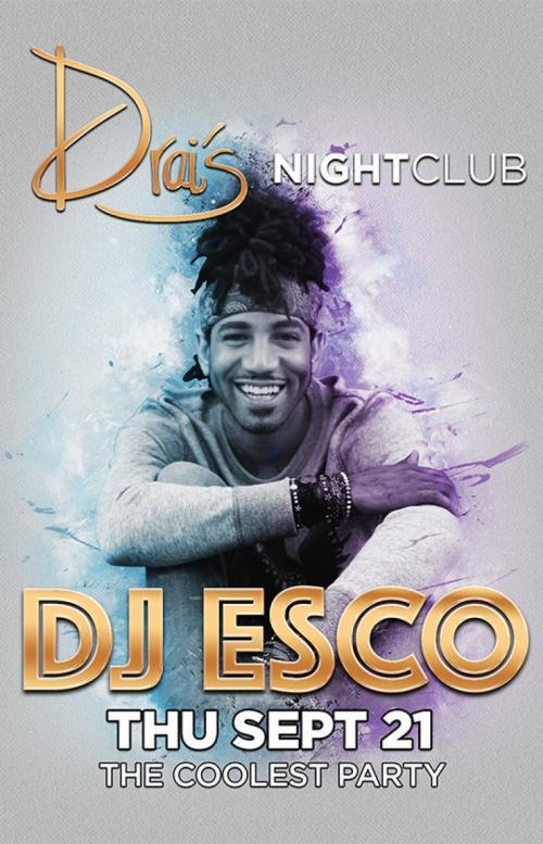 Drais Nightclub Las Vegas, Featuring DJ Esco