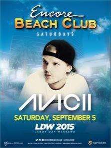 Encore Beach Club Las Vegas, Featuring Avicii