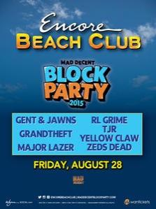 Encore Beach Club Las Vegas, Featuring Block Party