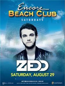 Encore Beach Club Las Vegas, Featuring Zedd