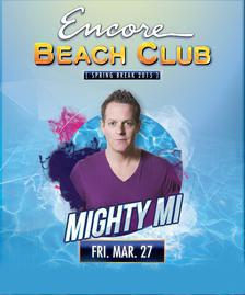 Encore Beach Club Pool Party Las Vegas, Featuring DJ MIGHTY MI