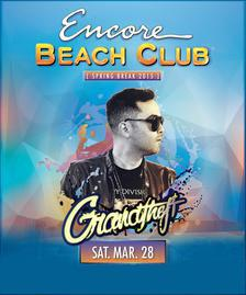 Encore Beach Club Pool Party Las Vegas, Featuring GRANDTHEFT