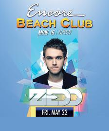 Encore Beach Club Pool Party Las Vegas, Featuring ZEDD