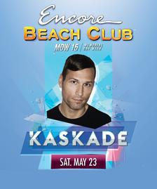 Encore Beach Club Pool Party Las Vegas, Featuring KASKADE