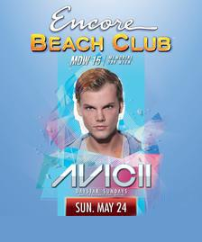 Encore Beach Club Pool Party Las Vegas, Featuring AVICII