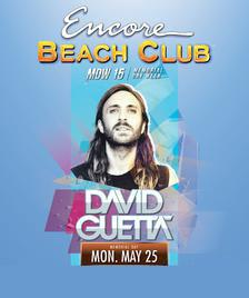 Encore Beach Club Pool Party Las Vegas, Featuring DAVID GUETTA