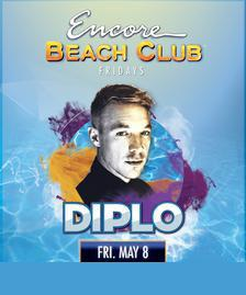 Encore Beach Club Pool Party Las Vegas, Featuring DIPLO