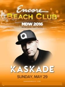 Encore Beach Club Pool Las Vegas, Featuring Kaskade
