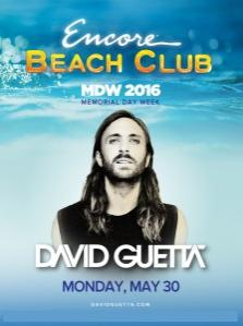 Encore Beach Club Pool Las Vegas, Featuring David Guetta