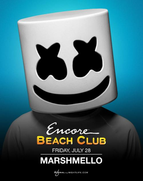 Encore Beach Club Las Vegas, Featuring Marshmello