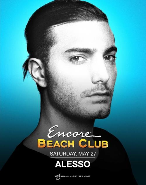 Encore Beach Club Las Vegas, Featuring Alesso