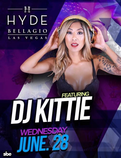 Hyde Nightclub Las Vegas, Featuring DJ Kittie