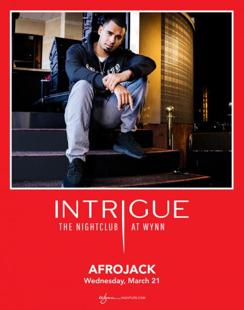 Intrigue Nightclub Las Vegas, Featuring AFROJACK