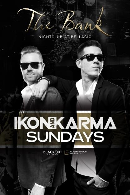 The Bank Nightclub Las Vegas, Ikon and Karma Sundays