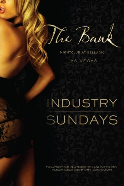 The Bank Nightclub Industry Sundays