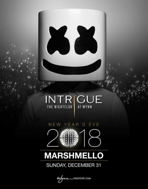Intrigue Nightclub at Encore, NYE 2018 Featuring Marshmello