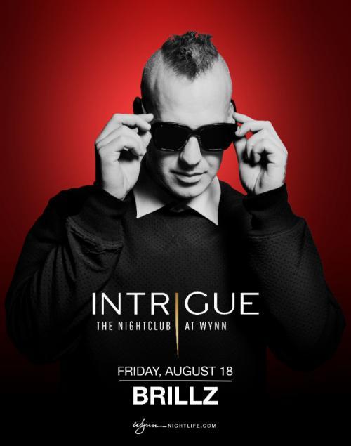 Intrigue Nightclub Las Vegas, Featuring Brills